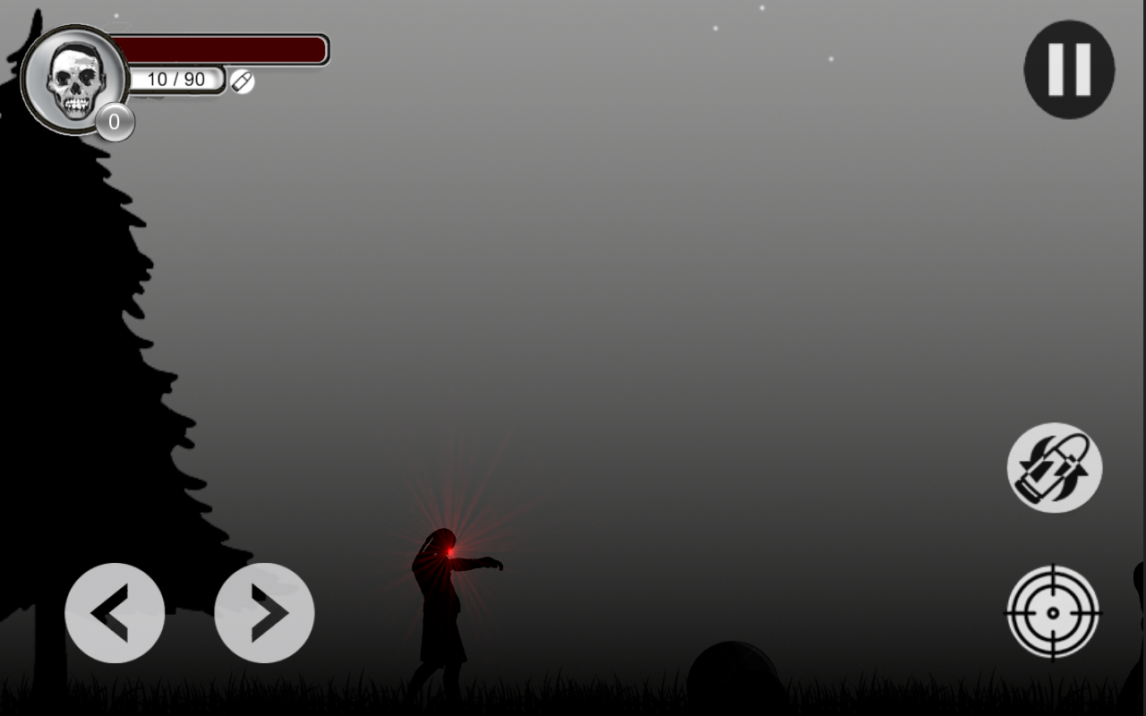 Kill zombies- screenshot