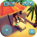 Eden Island Craft: 钓鱼与建筑游戏 icon