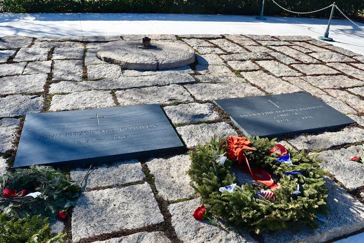 Eternal flame at JFK Gravesite