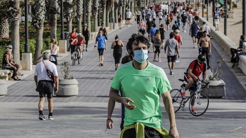 Sanidad invita a ser cautos durante la pandemia para evitar una segunda ola.