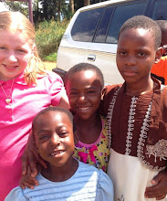 Photo: Some girls after church at Bible Baptist Church in Bambili