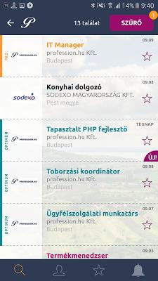 Profession - állások azonnal - screenshot