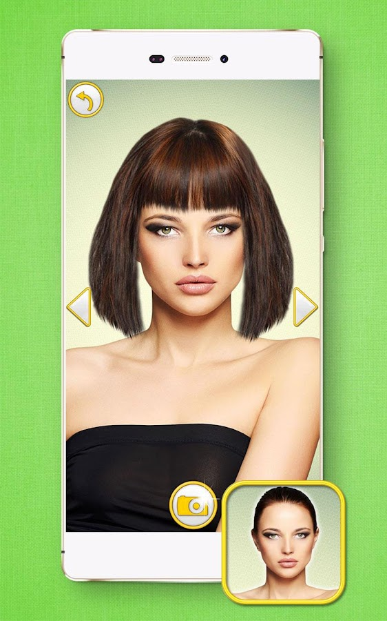 HairStyles  Bangs Hair Edit - Android Apps on Google Play