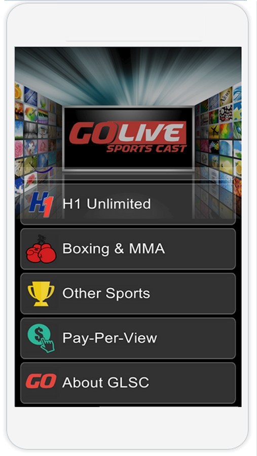 Go Live Sports Cast- screenshot