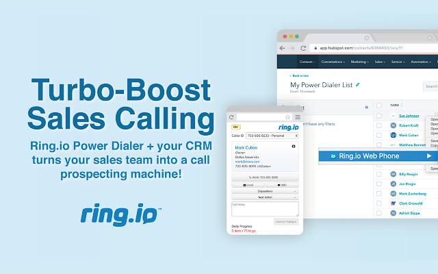 Ring.io Web Phone