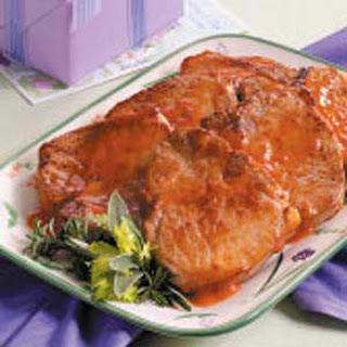 Pennsylvania Dutch Pork Chops.