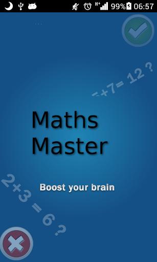 Maths Master