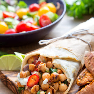 BBQ Chickpea Summer Wraps Recipe