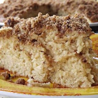 Double Layer Crumb Cake.