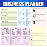 Business Diary Sales Notes Register & Day Planner 1.3