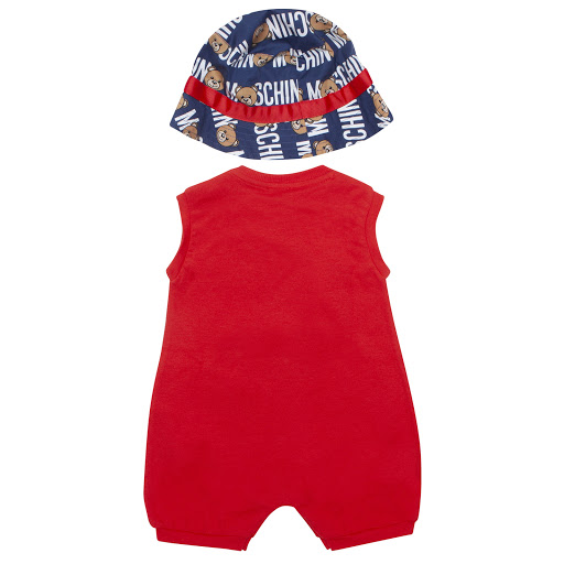Thumbnail images of Moschino Hat & Shortie Set