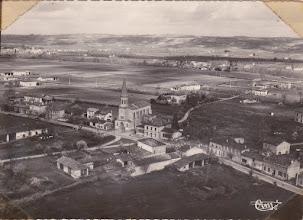 Photo: Orgueil (82) - Vue aérienne prise vers 1950