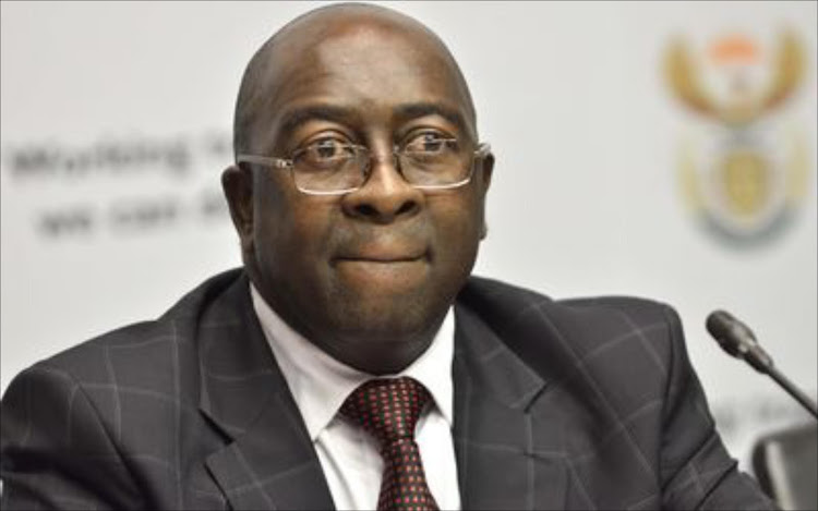 Former minister of finance Nhlanhla Nene.