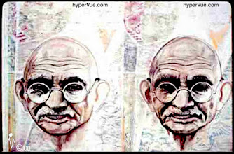 Photo: Mahatma Ghandi: visions of