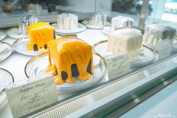 sugar miss:超級美的IG大理石蛋糕!日本人也愛來的東區咖啡廳,豆腐岩蛋糕意外好吃@捷運國父紀念館站