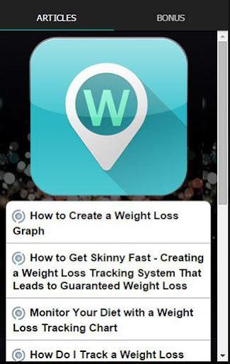 減肥跟踪提示