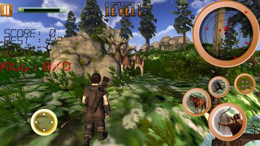 叢林 動物 狩獵 射箭