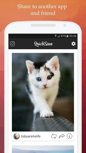 QuickSave for Instagram 2.2.7 screenshots 3