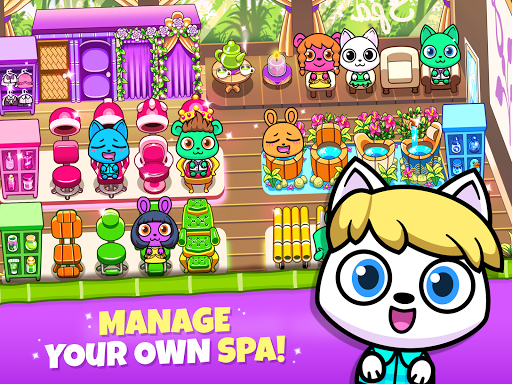 Forest Folks - Your Own Adorable Pet Spa 1.0.2 screenshots 6
