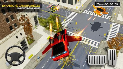 Flying Car Shooting Game: Modern Car Games 2020  screenshots 13