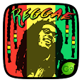 Reggae Graffiti GO Keyboard Theme Emoji