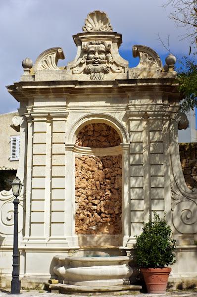 Photo: Inside the garden of Palazzo Parisio, Naxxar, Malta.