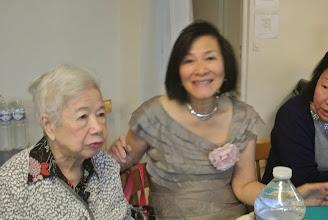 Photo: Maman d'Evelyne avec chi Lan