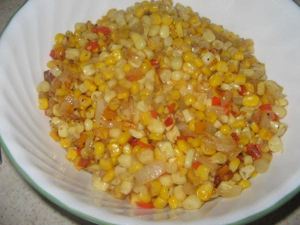 Iron Skillet Fried Corn Recipe