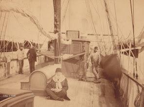 Photo: 1885 -Nixe I a Venezia Fotografía cortesía archivo Dr. C.Giunti