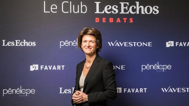 Isabelle KOCHER au Club Les Echos Débats le 30 novembre 2017.