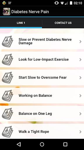 Diabetes Nerve Pain