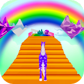 Unicorn Fantasy Run 3D
