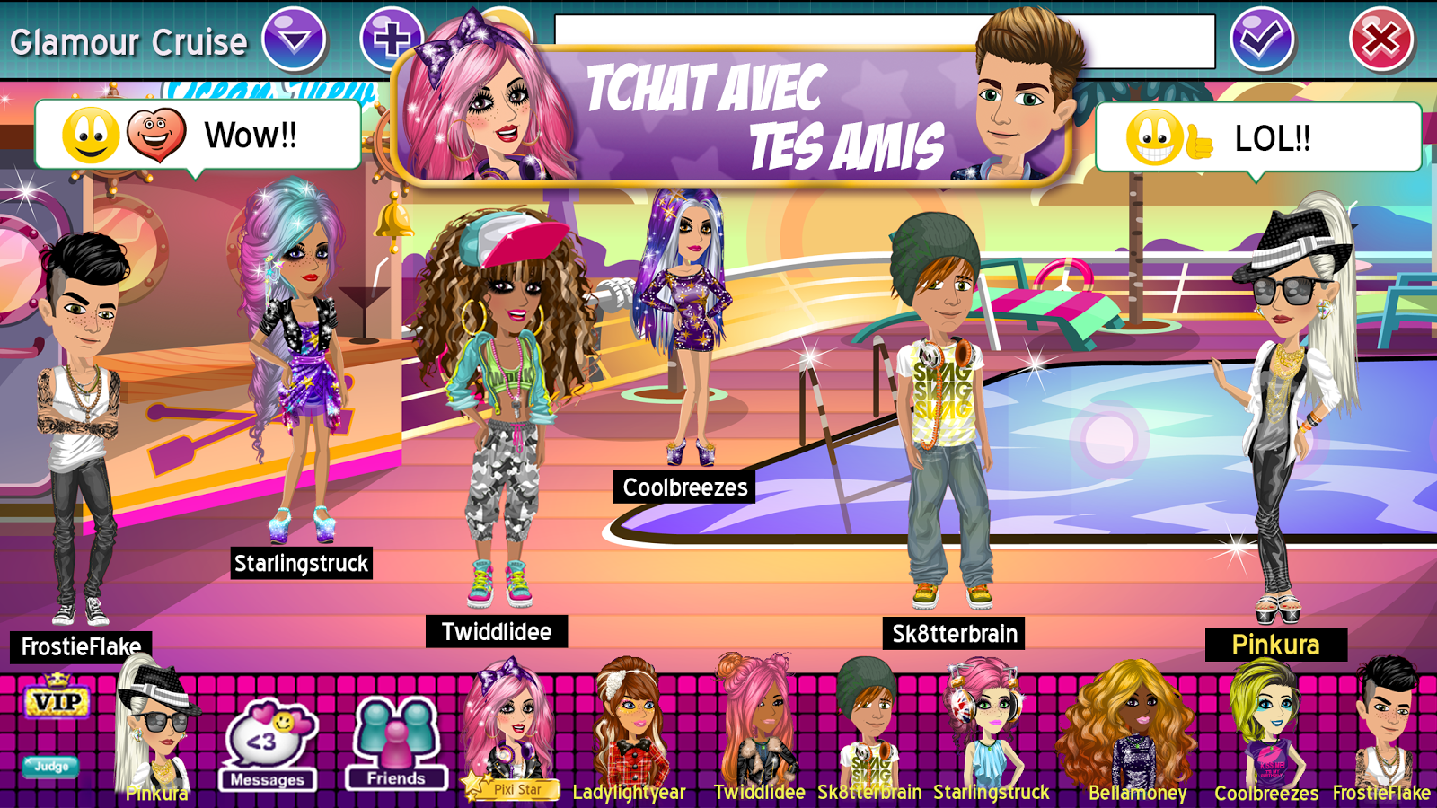 MovieStarPlanet – Capture d'écran