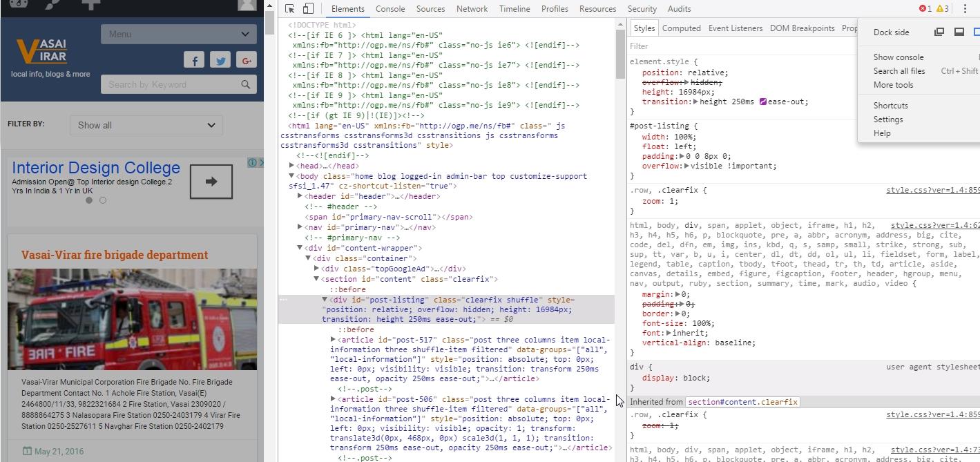 Vasai-Virar | Web development