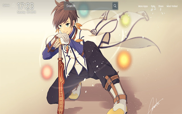 Tales Of Zestiria Wallpapers New Tab