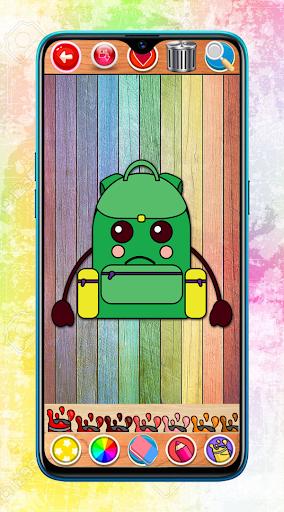 Kawaii Coloring Book Glitter screenshot 4