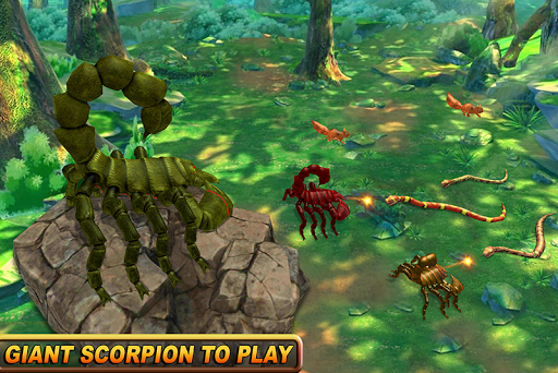 Wild Scorpion Family Jungle Simulator screenshots 2