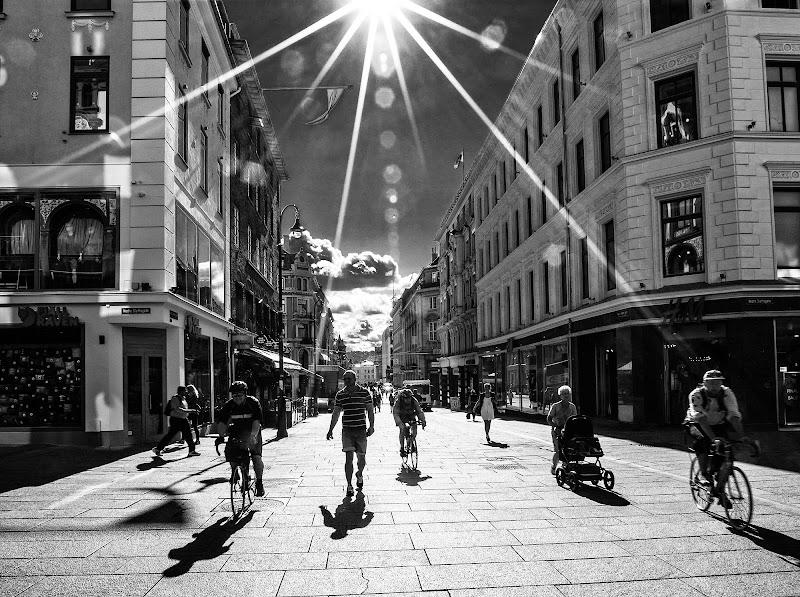 Oslo, Karl Johans gate di davide fantasia