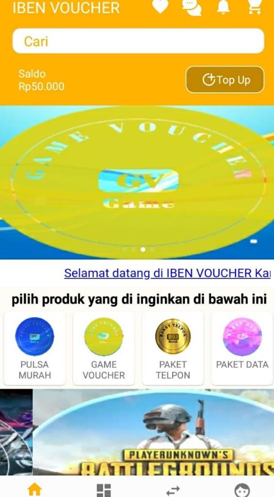 Iben Voucher Pulsa Game Dll Latest Version Apk Download Com Ippulsamurah Apk Free