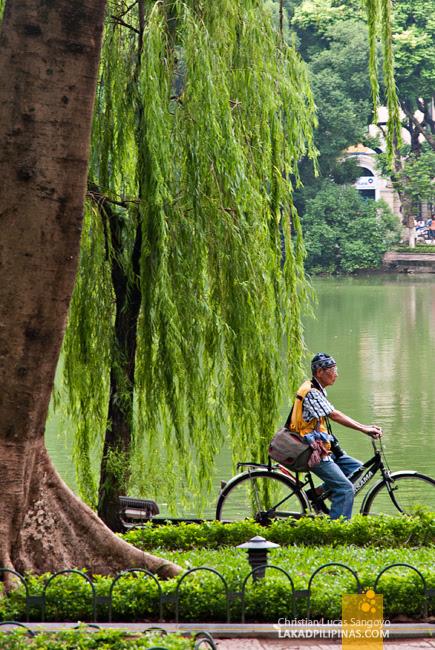 Hoan Kiem Hanoi Vietnam