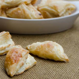 Puff Pastry Cheese Turnovers.