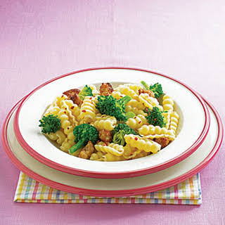 Cavatelli with Broccoli and Sausage.