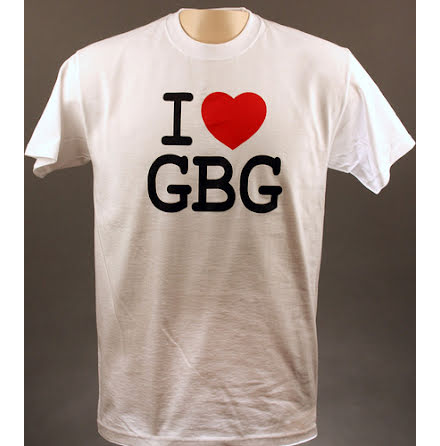 T-Shirt - I Love GBG