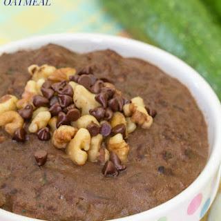 Brownie Batter Chocolate Zucchini Oatmeal
