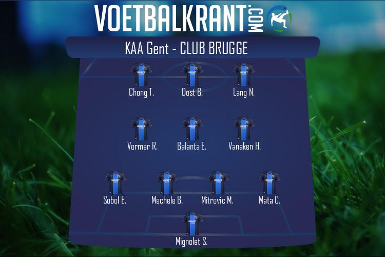 Club Brugge (KAA Gent - Club Brugge)