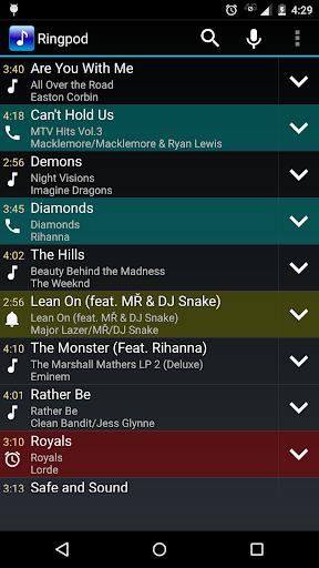 MP3 Cutter and Ringtone Maker 1.1.7 screenshots 1