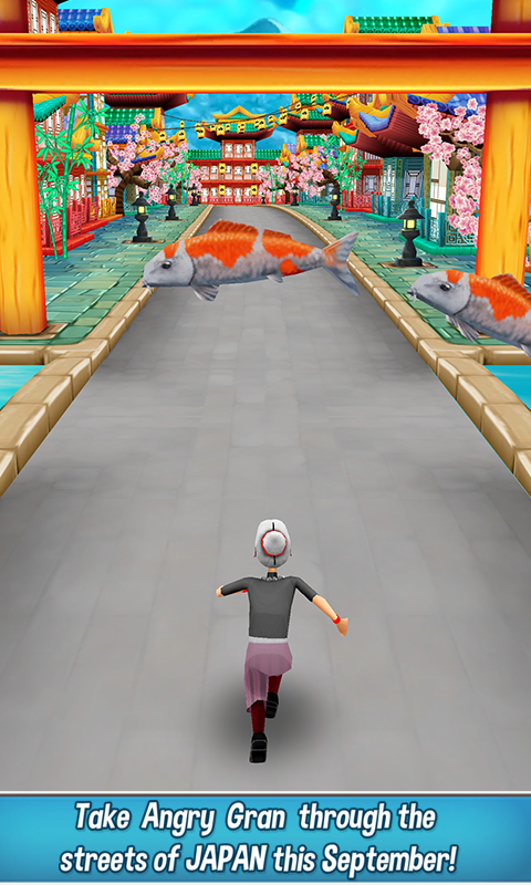 Screenshots of Angry Gran Run - Running Game for iPhone