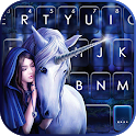 Unicorn Fairytale Keyboard Background icon