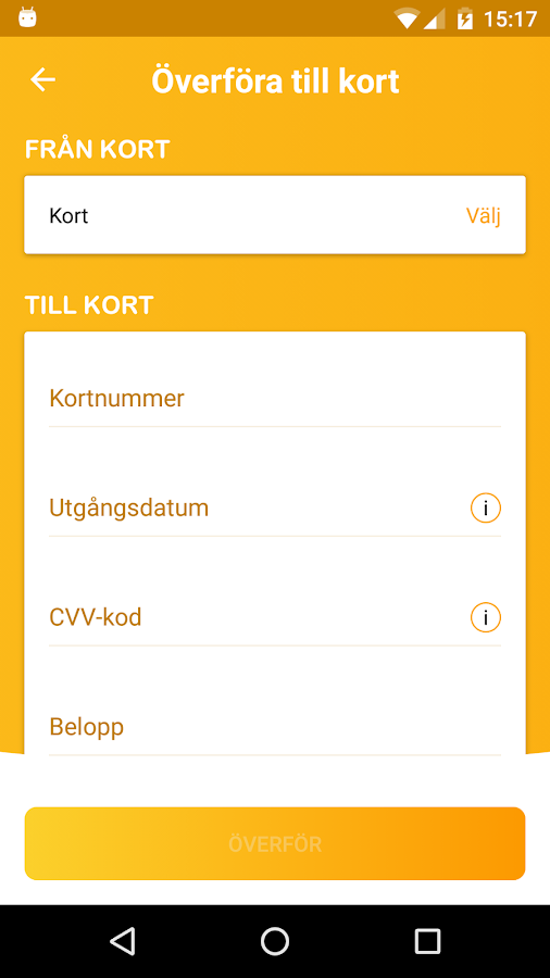 Ålems Sparbank- screenshot