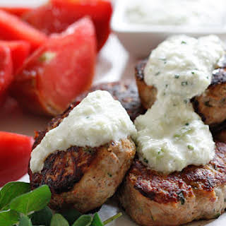 Greek Turkey Meatballs.